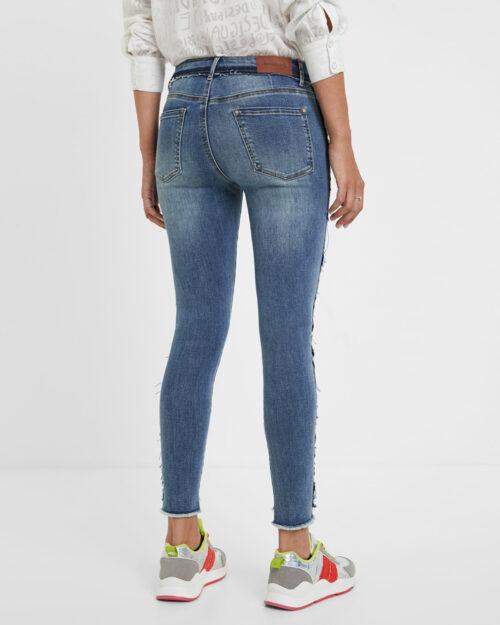 Desigual Jeans Denim miami flowers 20WWDD57 - 2
