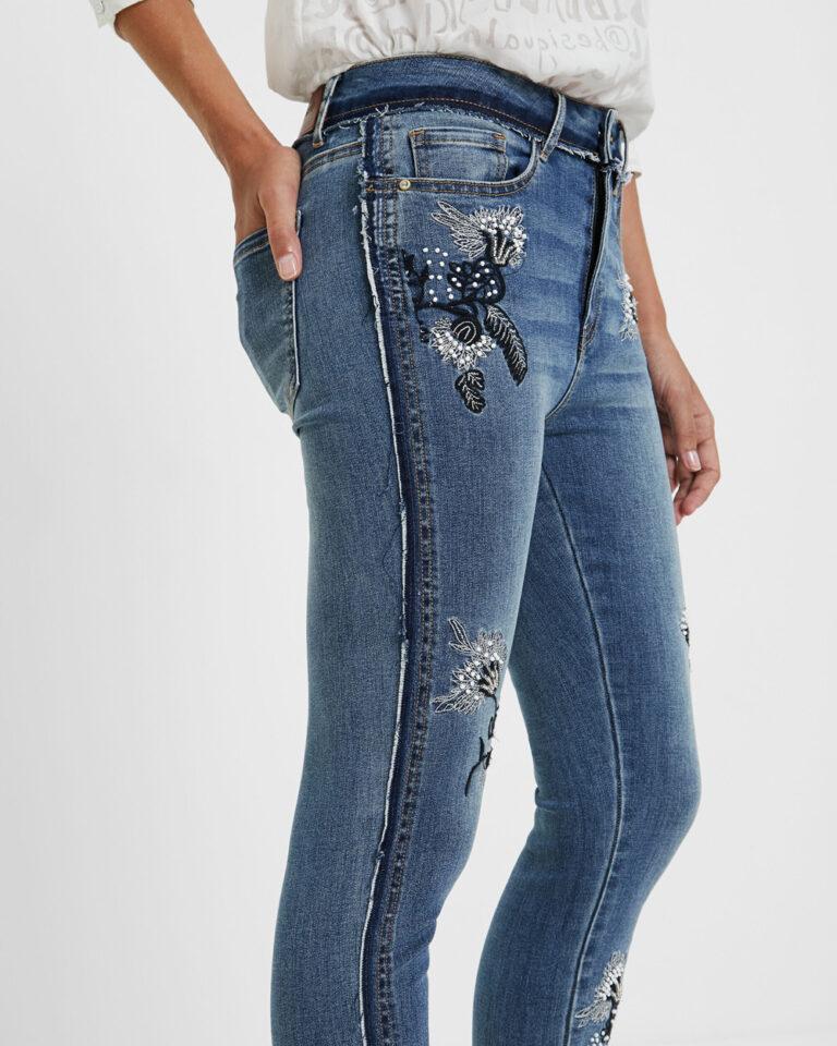 Desigual Jeans Denim miami flowers 20WWDD57 - 3