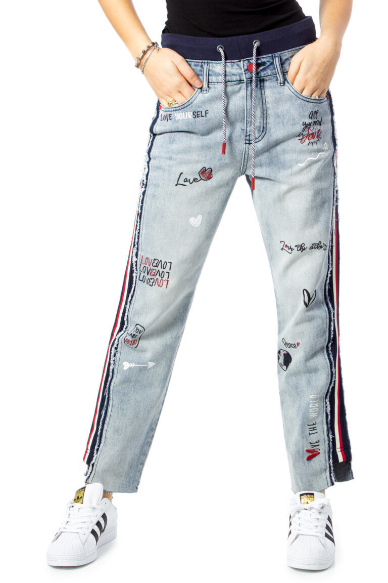 Desigual Jeans mom DENIM CLEMENTE  20SWDD07 - 1