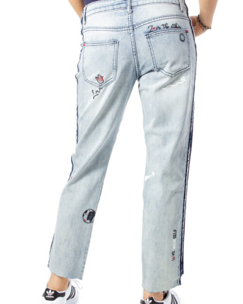 Desigual Jeans mom DENIM CLEMENTE  20SWDD07 - 3