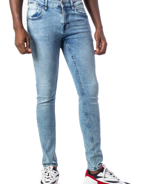 Only & Sons Jeans skinny WARP  BLUE WASHED DCC 3675 22013675 - 1