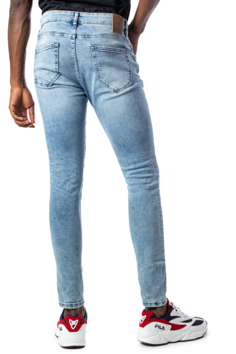Only & Sons Jeans skinny WARP  BLUE WASHED DCC 3675 22013675 - 3