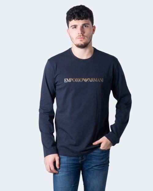 Emporio Armani T-shirt intimo STAMPA SCRITTA LOGO 111653 0A595 - 1