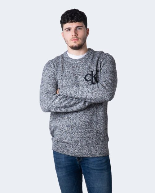 Calvin Klein Jeans Maglione TWISTED YARN CK LOGO J30J316592 - 1