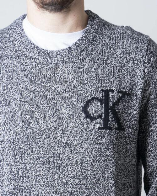 Calvin Klein Jeans Maglione TWISTED YARN CK LOGO J30J316592 - 3