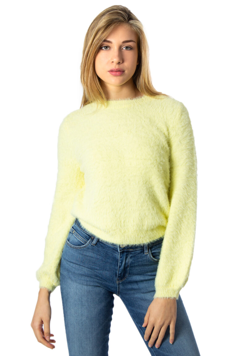Only Maglione LOVER NEON L/S CROP PULLOVER EX KNT 15197376 - 1