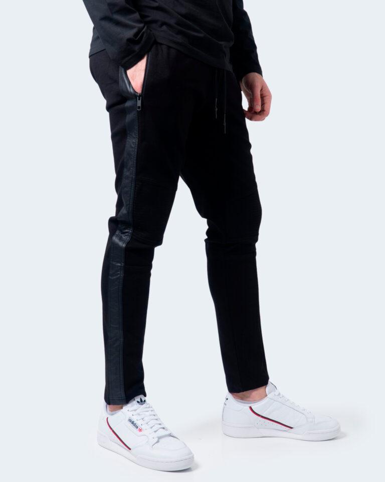 Antony Morato Pantaloni slim BIKER CON BANDE IN SIMIL PELLE MMFP00300-FA150158 - 1