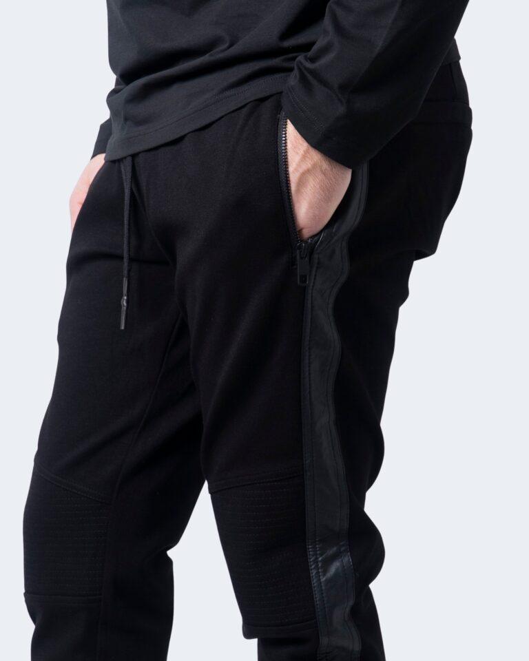 Antony Morato Pantaloni slim BIKER CON BANDE IN SIMIL PELLE MMFP00300-FA150158 - 3