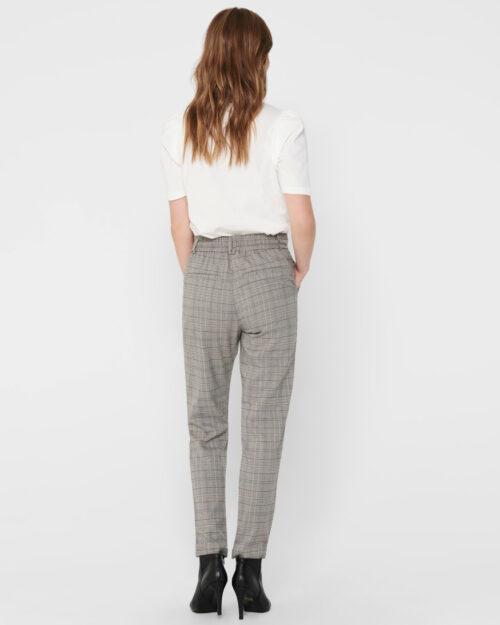 Only Pantaloni Poptrash Easy Think Check Noos 15182364 - 2