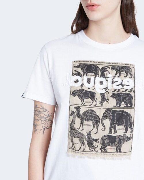 Desigual T-shirt Ts african animals 20WWTK23 - 2