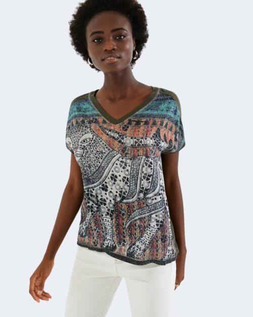 Desigual T-shirt TS ANUKI 20WWTKB9 - 1