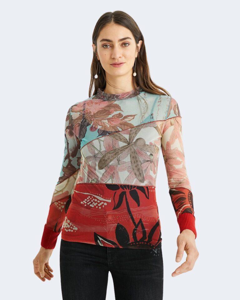 Desigual T-shirt manica lunga Ts nebraska 20WWTKAI - 1