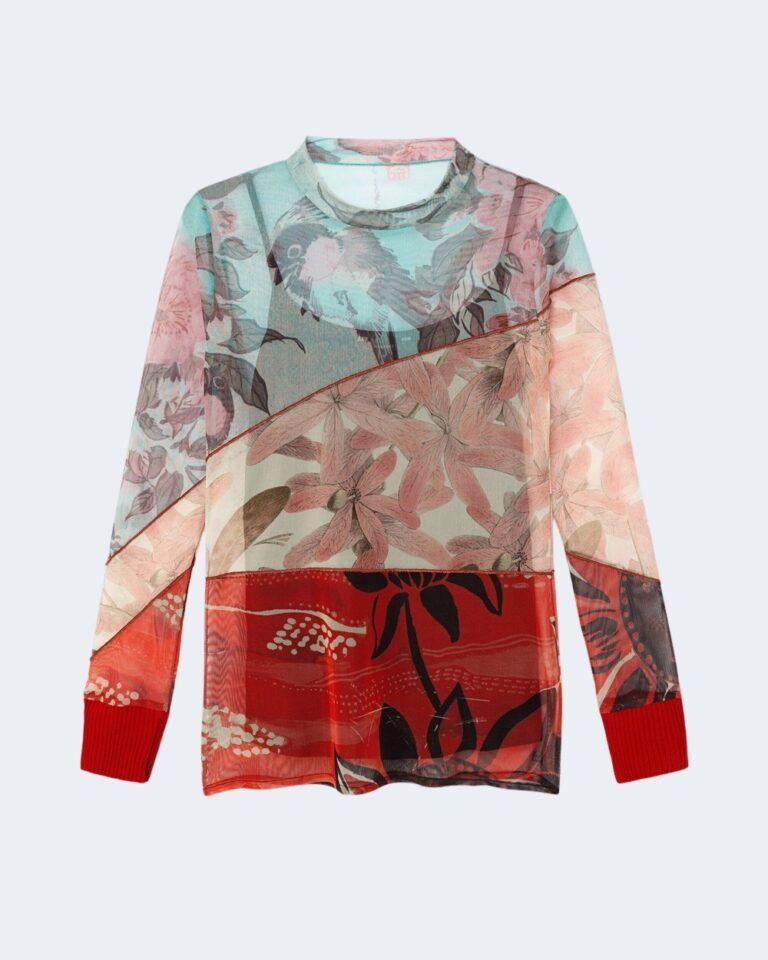 Desigual T-shirt manica lunga Ts nebraska 20WWTKAI - 3