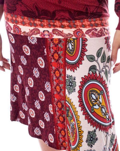 Desigual Vestito corto VEST INDIRA 19WWVK94 - 3