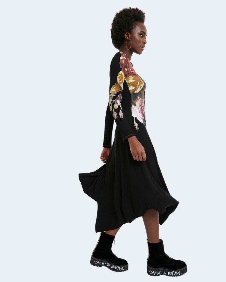 Desigual Vestito lungo VEST ROSE 20WWVK02 - 2