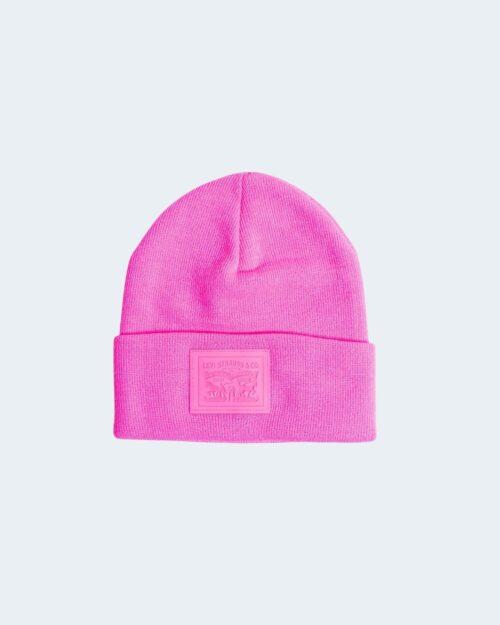 Cappello zuccotto Levi's® 2 HOR REGULAR Fuxia - 62809