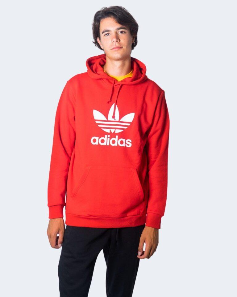 Adidas Felpa con cappuccio TREFOIL HOODIE GD9923/GD9924 - 1