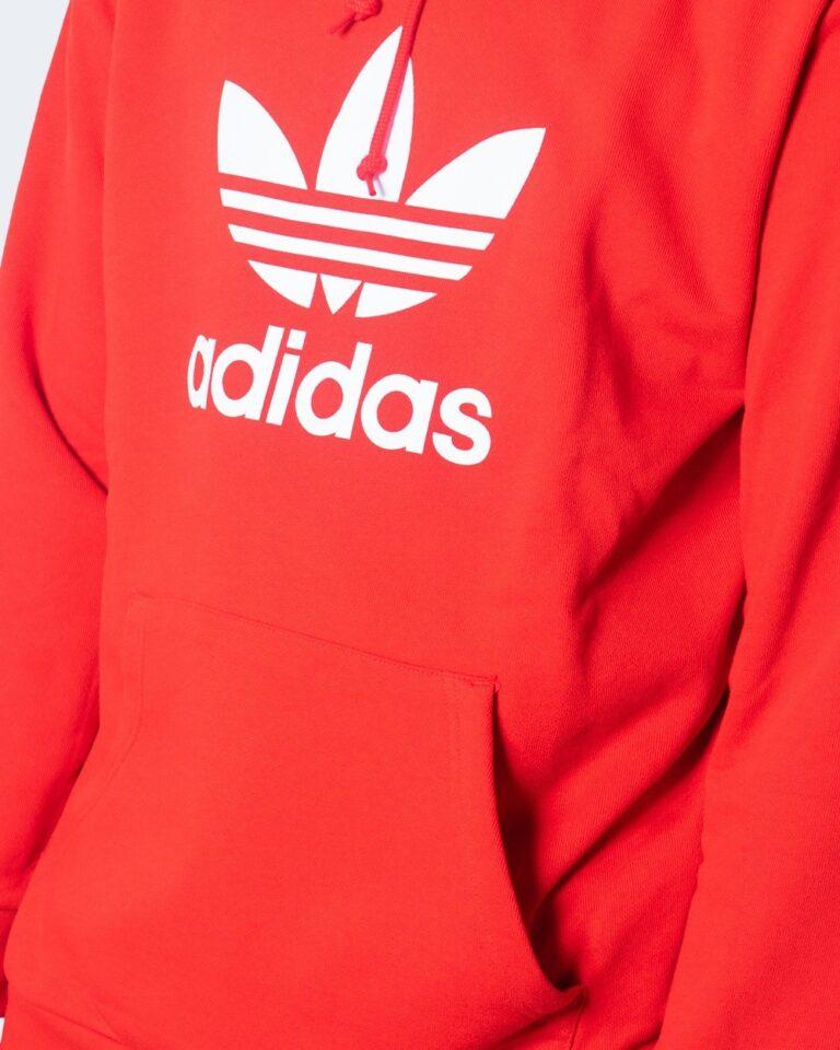 Adidas Felpa con cappuccio TREFOIL HOODIE GD9923/GD9924 - 3