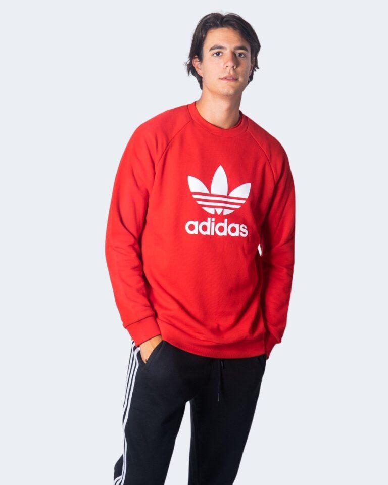 Adidas Felpa senza cappuccio TREFOIL CREW GD9926 - 1