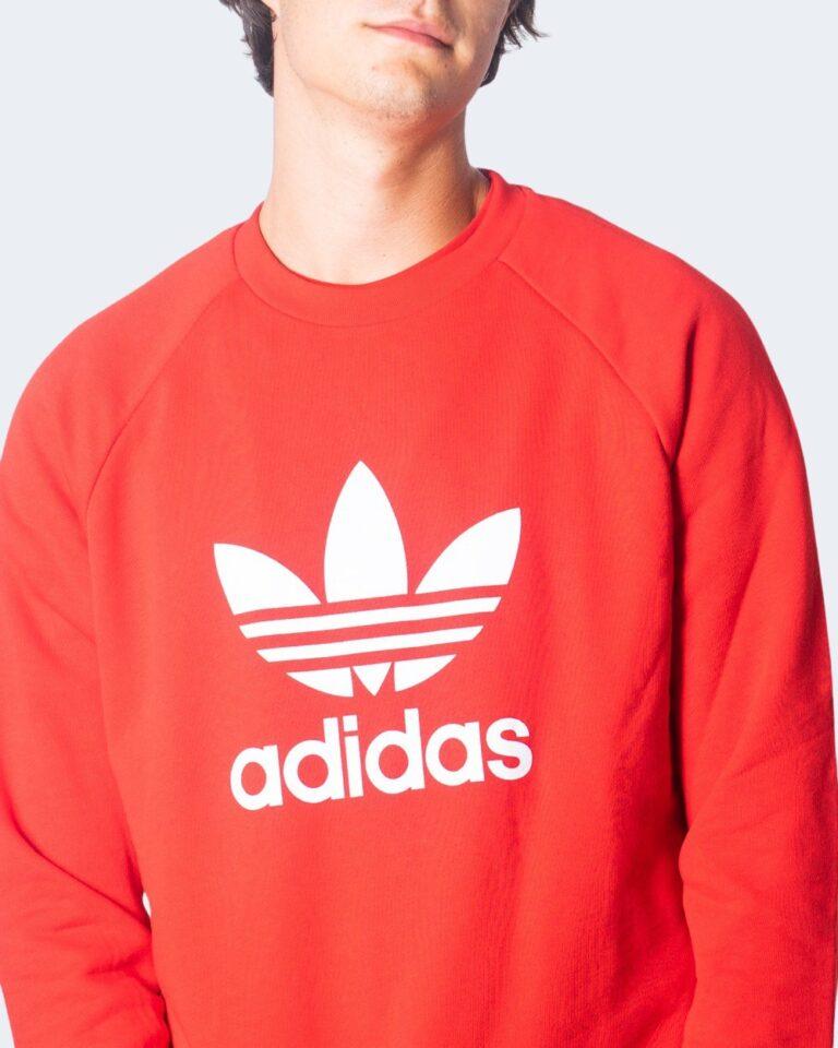 Adidas Felpa senza cappuccio TREFOIL CREW GD9926 - 3