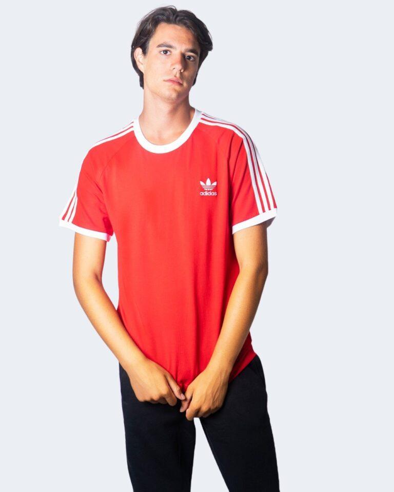 Adidas T-shirt 3-STRIPES TEE SCARLE GD9934 - 2