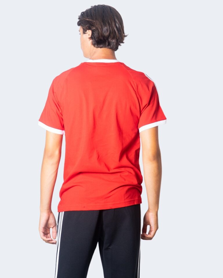 Adidas T-shirt 3-STRIPES TEE SCARLE GD9934 - 3