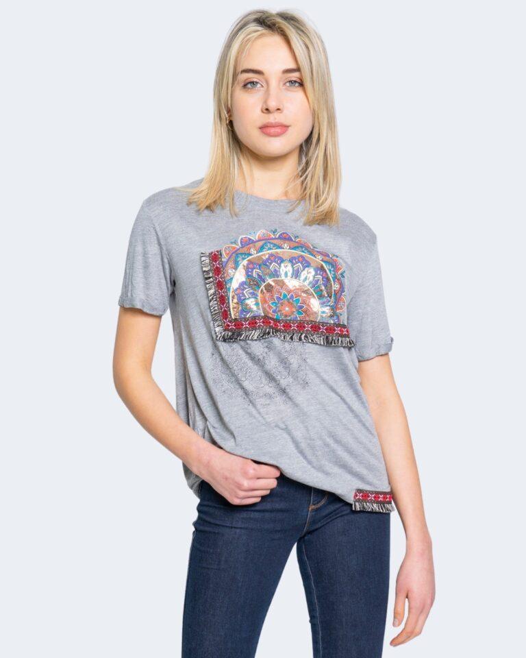 Desigual T-shirt TS ESTRASBURGO 20WWTKAN - 1
