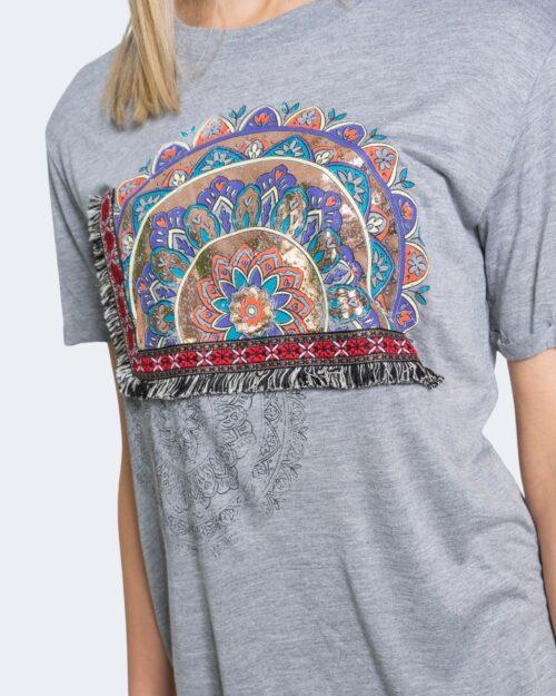 Desigual T-shirt TS ESTRASBURGO 20WWTKAN - 3