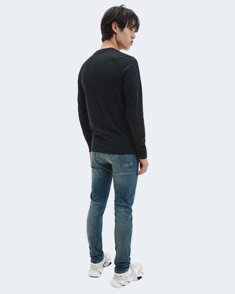 Calvin Klein Jeans T-shirt manica lunga ESSENTIAL INSTIT LS TEE J30J316884 - 2