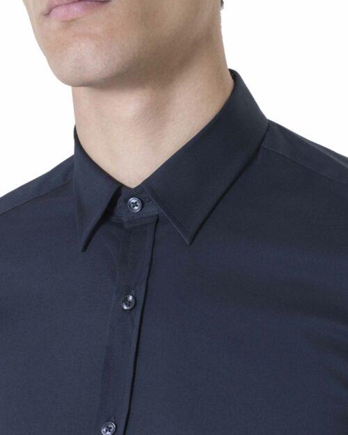 Camicia manica lunga Antony Morato MMSL00375/FA450001 Blue scuro – 11945