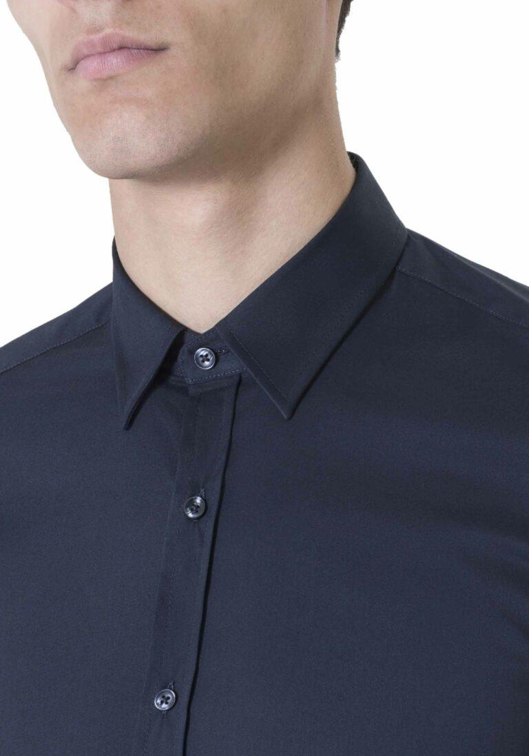 Camicia manica lunga Antony Morato MMSL00375/FA450001 Blue scuro - Foto 2