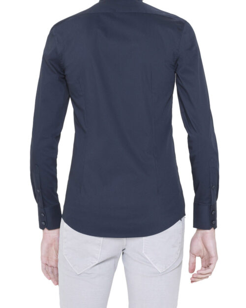 Camicia manica lunga Antony Morato MMSL00375/FA450001 Blue scuro - Foto 3