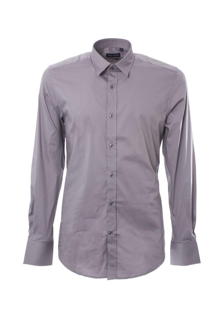Camicia manica lunga Antony Morato MMSL00375/FA450001 Grigio Chiaro - Foto 1