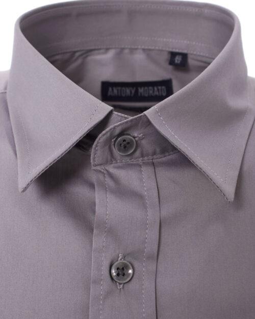 Camicia manica lunga Antony Morato MMSL00375/FA450001 Grigio Chiaro - Foto 2