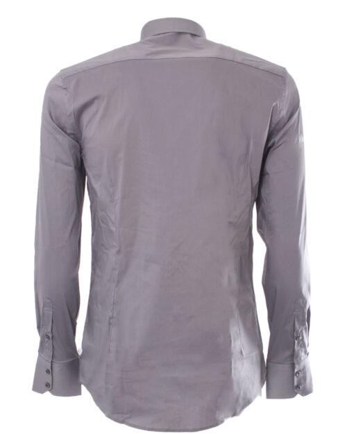 Camicia manica lunga Antony Morato MMSL00375/FA450001 Grigio Chiaro - Foto 3