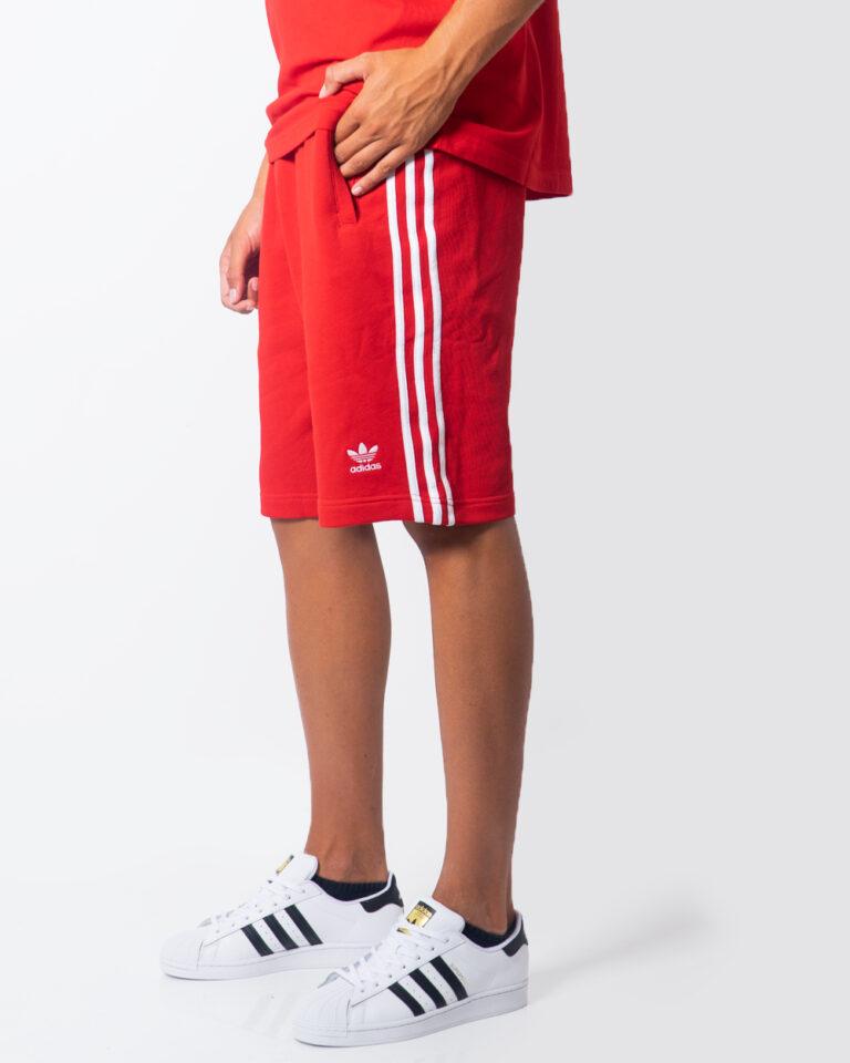 Bermuda Adidas 3-STRIPE Rosso - Foto 1