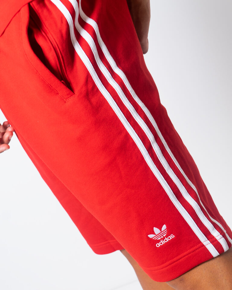 Bermuda Adidas 3-STRIPE Rosso - Foto 3