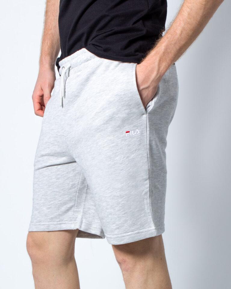Shorts Fila ELDON SWEAT Grigio Chiaro - Foto 1