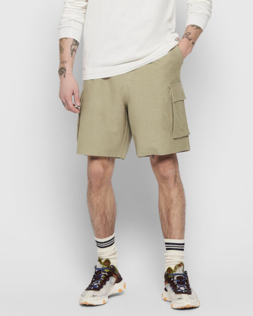 Shorts Only & Sons BOAZ SWEAT Beige scuro – 42021
