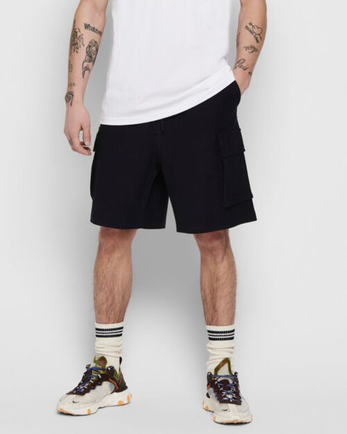 Shorts Only & Sons BOAZ SWEAT Blue scuro – 42021