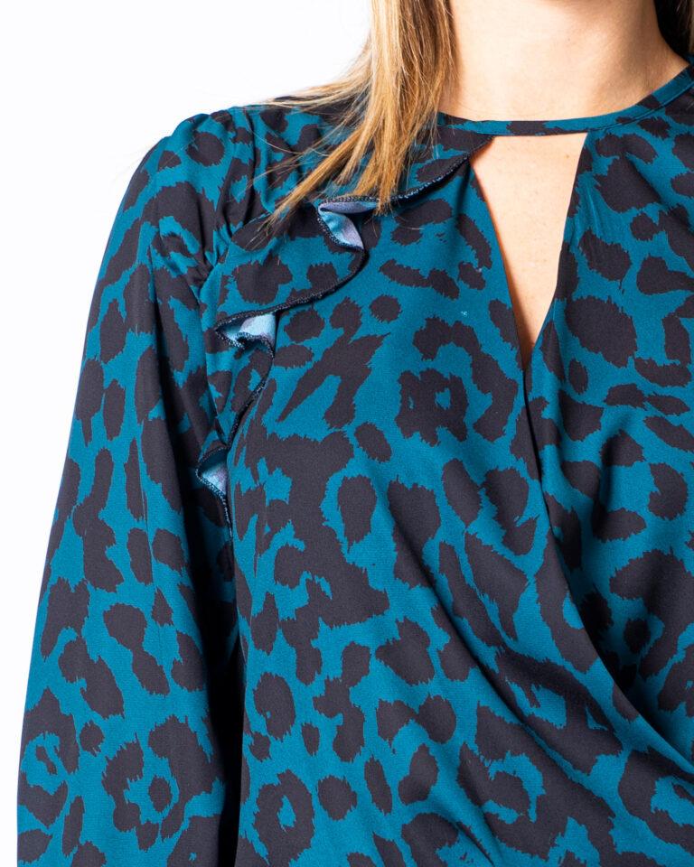 Bluse manica lunga Akè GRIFFIN Verde - Foto 4