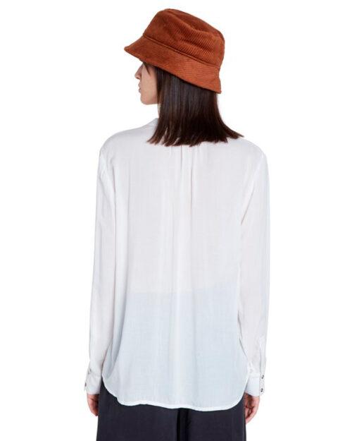 Bluse manica lunga Desigual Blus Senda Bianco - Foto 3