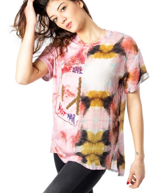 T-shirt Desigual Blus Padua Rosa – 39843