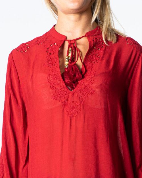 Bluse manica lunga Desigual BLUS ANUSKA Rosso - Foto 4