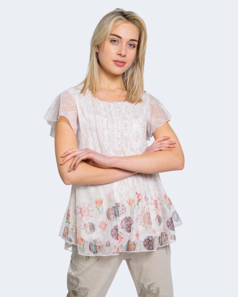 T-shirt Desigual NORTE Bianco - Foto 1