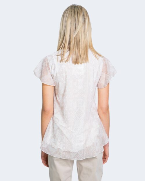 T-shirt Desigual NORTE Bianco - Foto 2