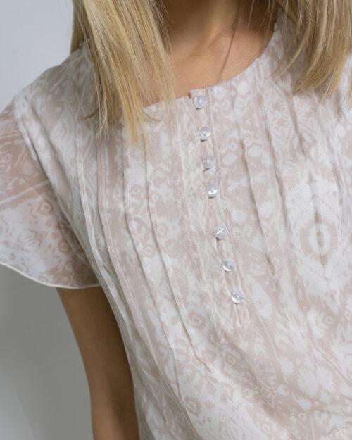 T-shirt Desigual NORTE Bianco - Foto 3