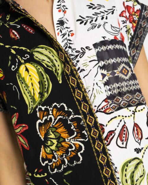Camicia manica corta Desigual AMUR Nero - Foto 3