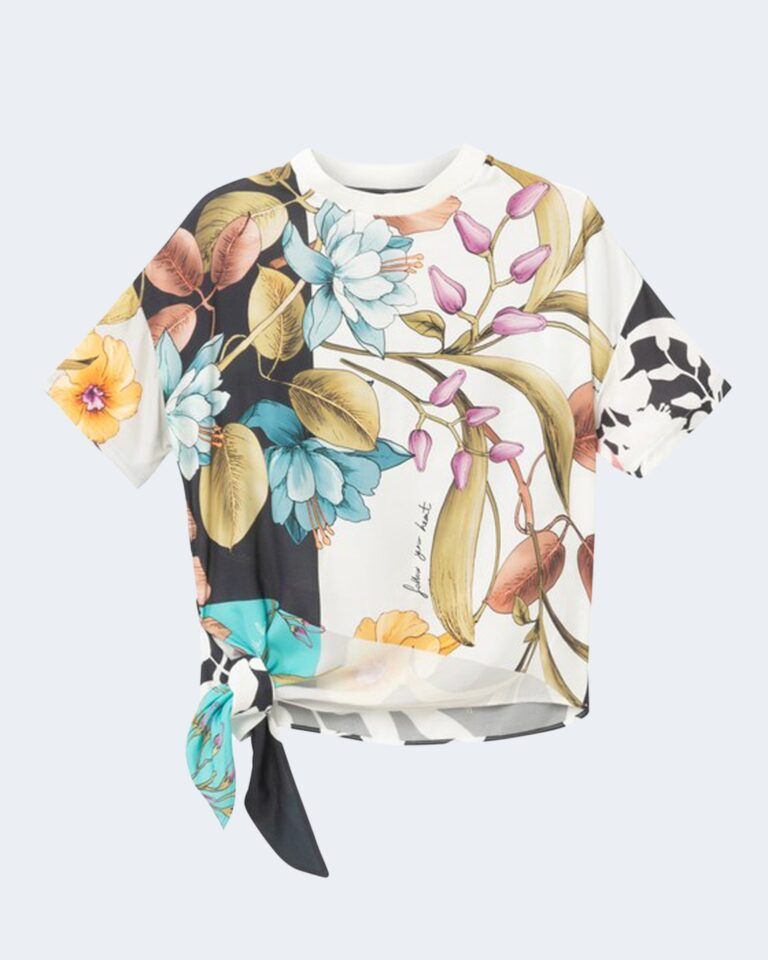 T-shirt Desigual FLORENCE Panna - Foto 1