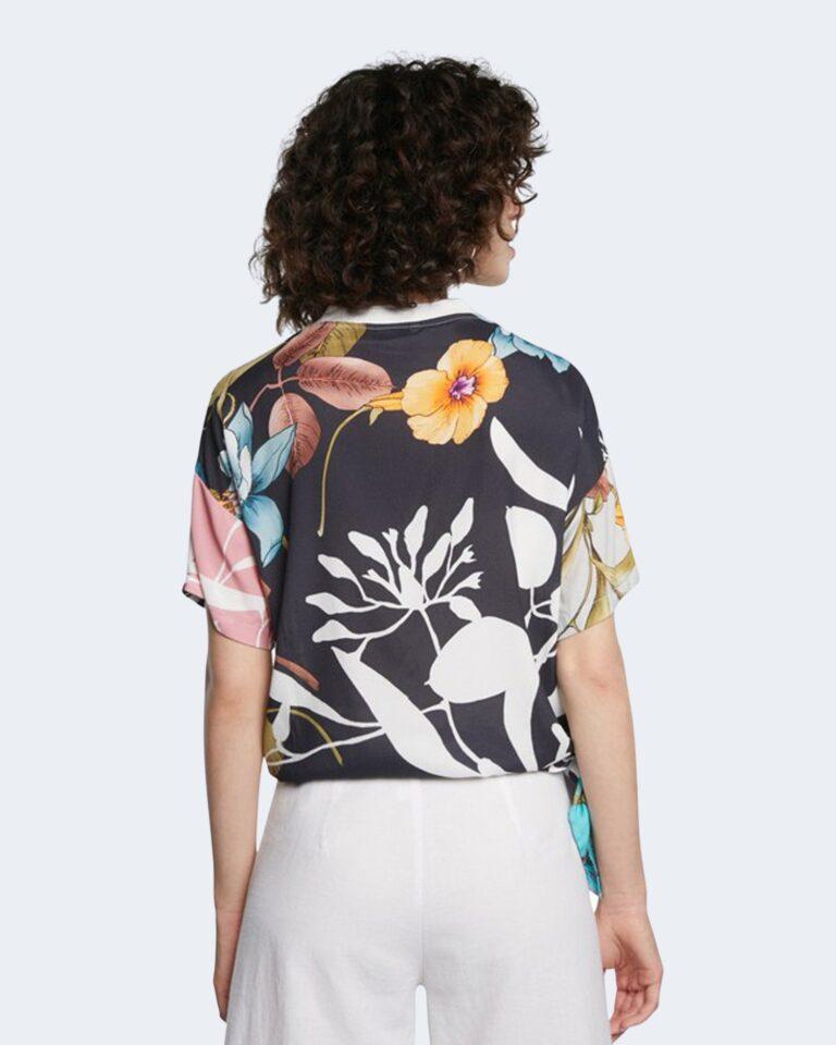 T-shirt Desigual FLORENCE Panna - Foto 4